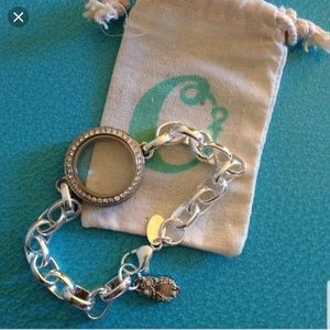 Origami Owl Jewelry - Locket and wrap bracelet